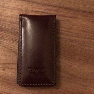 Coach money clip great gift!